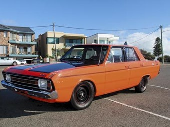 Chrysler Valiant VG Pacer: Reader resto