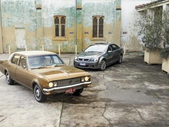Holden Brougham v Caprice: Then & now