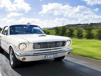 1964 Ford Mustang: Past Blast