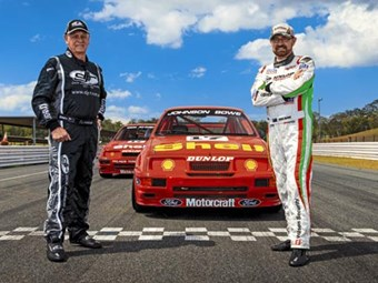Bathurst Ford Sierras: Dick Johnson & John Bowe