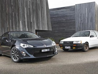 Toyota AE86 Sprinter vs 86 review