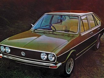 1975 VW Passat TS review