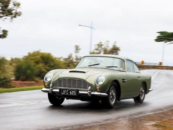 Aston Martin DB4 Series 5: World's Greatest Cars series