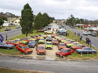 Holden HQ SS 40th Party