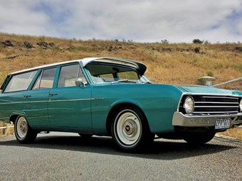 1969 Chrysler VF Valiant Safari: Reader ride