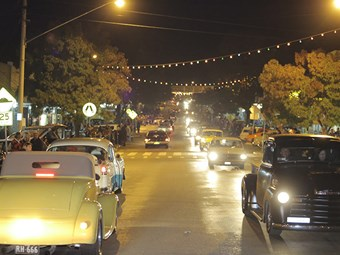 Gallery: Narrandera Hot Rod Run 2014 - cruise night
