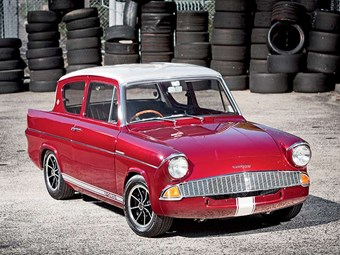 Past blast: Ford Anglia 105E