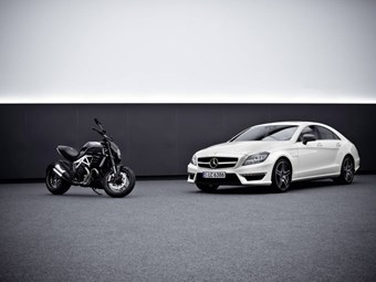 AMG and Ducati create first joint products