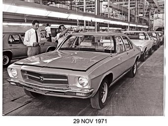 HQ Holden: 40 years