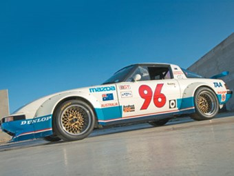 Allan Moffat's 1983 Group C Mazda RX7 Review