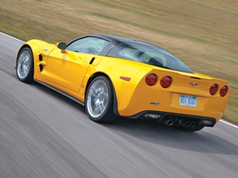 Chevrolet Corvette ZR1 (2009) Review