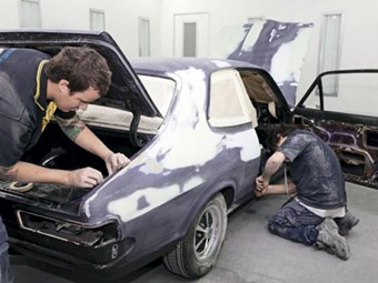 1972 LJ Torana XU-1: Project Purple part 3