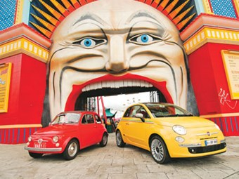 2008 Fiat 500 & 1970 Fiat 500 Feature Review