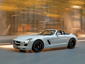 Mercedes SLS Roadster Review