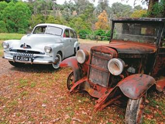 Holden 1955 FJ Station Wagon conversion