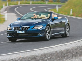 BMW 650i Convertible (2008) Review