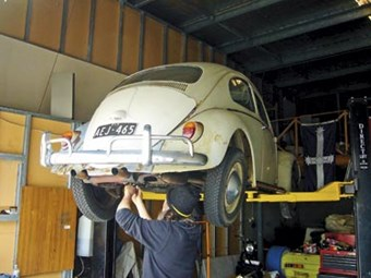 Volkswagen Beetle: Our Shed