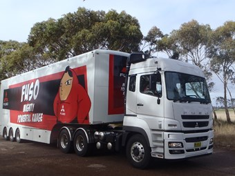 Mitsubishi Fuso Heavy Duty truck review