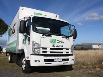 Isuzu Trucks FSR 850 CNG review