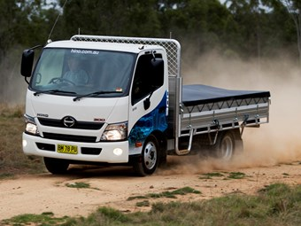 Hino 300 Series light truck review
