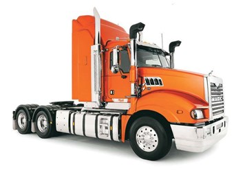 Mack Trucks Trident axle back truck review