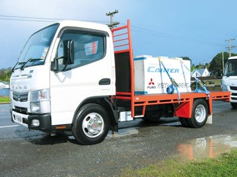 MITSUBISHI FUSO CANTER EURO TEST REVIEW (LAUNCH)