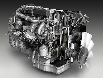 Scania Trucks exhibits Euro 6 emissions-compliant engines