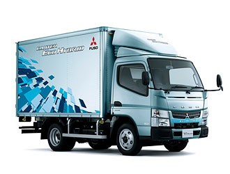 New Mitsubishi Fuso Canter truck revealed