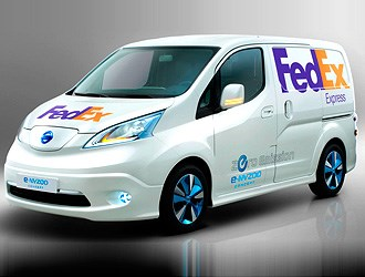 FedEx's dreams of electric fleet make headway