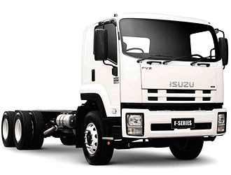 On the road with the new Isuzu agitator