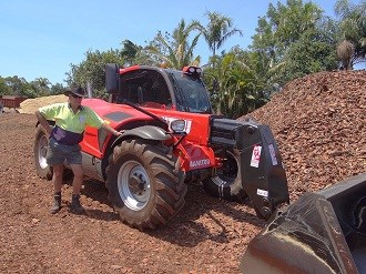 New Manitou telehandlers lifts rural presence