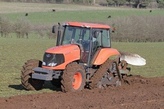 Kubota introduces new half-track tractor