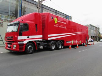 Iveco teams with Ferrari