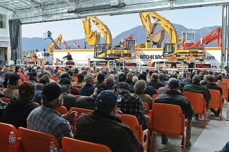 Ritchie Bros. Geelong facility grand opening auction