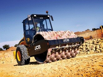 JCB expands Vibromax compaction roller line