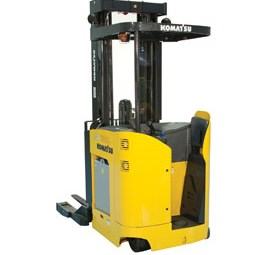 Komatsu introduces FR series pantographic reach electric forklifts