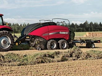 Case IH debuts LB4 series square balers at Wimmera