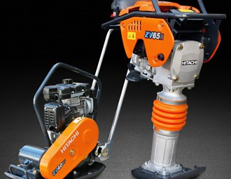 Hitachi introduces new compaction equipment