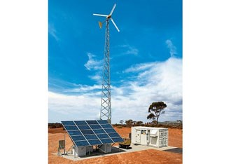 Cat introduces hybrid power systems for telecommunications industry