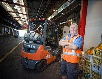 Mushroom wholesaler sticks with Toyota