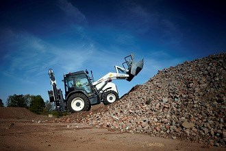 Terex launches TLB890 backhoe loader at Bauma 2013