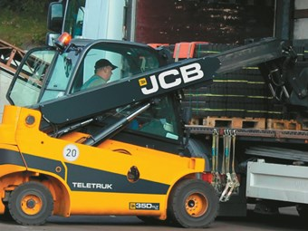 JCB's Teletruk lifts both power and capacity