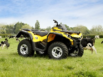 Can-Am Outlander 500 DPS Review