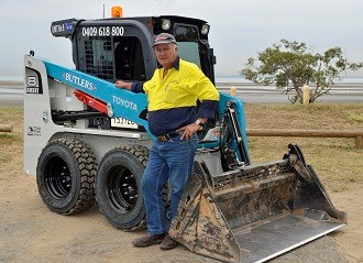 Butler's Bobcat Hire maintains 30 year Toyota Huski tradition