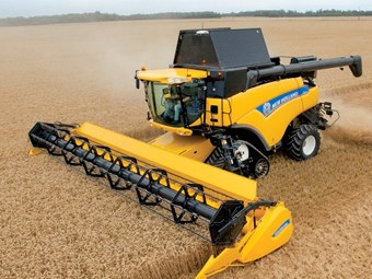 New Holland deliver combo of efficiency and productivity