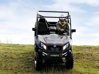 CF Moto Tracker 800 UTV review