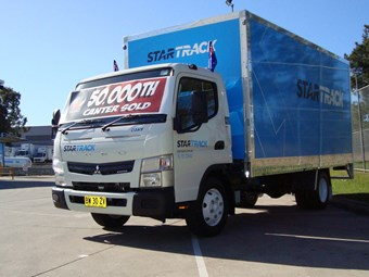 Fuso delivers 50,000th Canter in Australia in 50th anniversary year