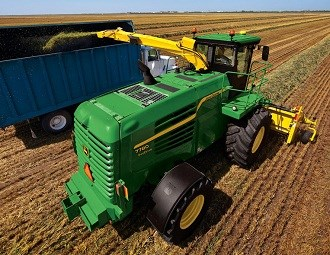 John Deere rolls out 7080 series forage harvesters