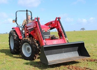 Review: Massey Ferguson MF4609 tractor