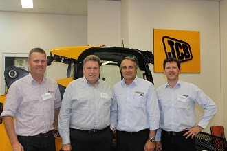 Outstanding JCB dealers awarded